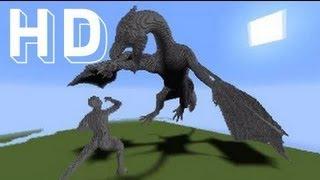 getlinkyoutube.com-Epic Minecraft DRAGON Facecam Timelapse