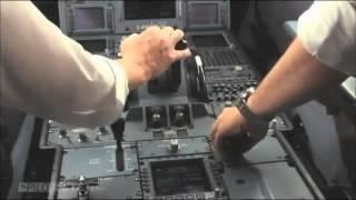 getlinkyoutube.com-飛機降落~機長駕駛室  landing