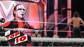 getlinkyoutube.com-Top 10 WWE Raw moments: January 19, 2015