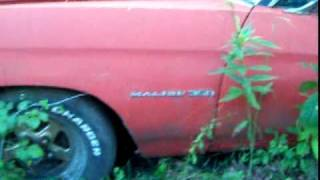 getlinkyoutube.com-1971 Chevelle found in woods