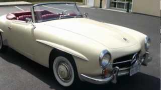 getlinkyoutube.com-1959 Mercedes Benz 190SL For Sale~Recent Nut & Bolt Restoration~FANTASTIC!