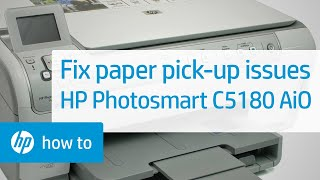 getlinkyoutube.com-Fixing Paper Pick-Up Issues - HP Photosmart C5180 All-in-One Printer
