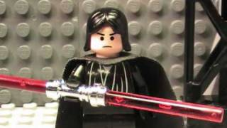 getlinkyoutube.com-Lego Star Wars- Lightsaber FAIL