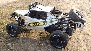 getlinkyoutube.com-HPI Baja - Kraken class 1 with aluminium panels - RCMK, DDM Dominator.