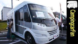 getlinkyoutube.com-【グローブバスI1】 欧州の本格的モーターホームキャンピングカー European Motor Home