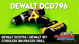 getlinkyoutube.com-Dewalt DCD796 | Dewalt 18v cordless Brushless drill