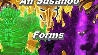 getlinkyoutube.com-All Susanoo Forms - Itachi, Shisui, Indra, Madara & Sasuke