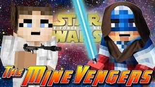 getlinkyoutube.com-Minecraft MineVengers - STAR WARS - THE SAGA CONTINUES!!
