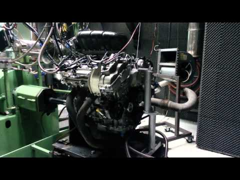 Lotus Evora GT4 engine, the Toyota 2GRFE engine on our dyno.