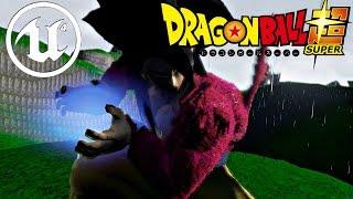 getlinkyoutube.com-Dragon Ball Unreal - Gameplay Demo Preview (SSJ4 Gogeta, Goku SSJ5)