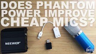 getlinkyoutube.com-Does Phantom Power Improve Your Condenser Mics Audio?
