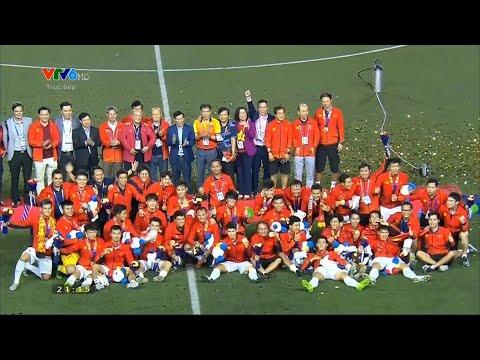 Việt Nam lần đầu tiên vô địch bóng đá nam SEA Games