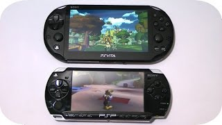 PS Vita Ratchet and Clank Trilogy vs. PSP Ratchet and Clank Size Matters Gameplay