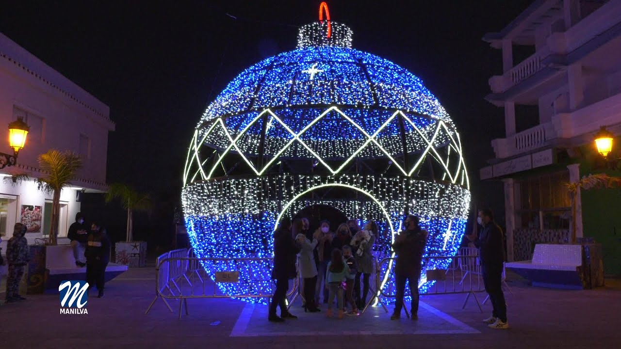 Desde ayer podemos ver la iluminación navideña en Manilva