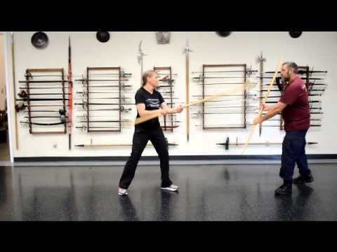 May quarterstaff workshop at Davenriche European Martial Artes School