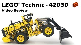 getlinkyoutube.com-LEGO Technic 42030, Remote-Controlled VOLVO L350F Wheel Loader - Demo