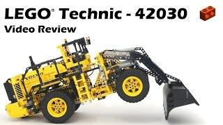 LEGO Technic 42030, Remote-Controlled VOLVO L350F Wheel Loader - Demo