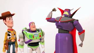 getlinkyoutube.com-Toy Story 3 The Video Game - PS3 - Zurg playable / PlayStation Move official gameplay trailer HD