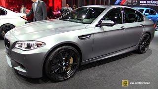 getlinkyoutube.com-2016 BMW M5 - Exterior and Interior Walkaround - 2015 Frankfurt Motor Show