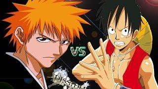 getlinkyoutube.com-【BLEACH VS One Piece】Ichigo VS Luffy! Dissidia 012