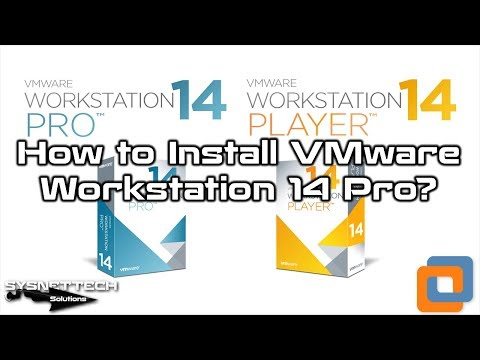 VM Workstation 14 Setup Video