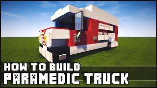 getlinkyoutube.com-► Minecraft : How to Make - Ambulance