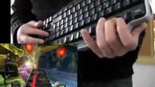 getlinkyoutube.com-Guitar Hero III - PC Keyboard (noob)