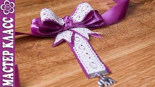 getlinkyoutube.com-Галстук для девушки своими руками ✄ Kulikova Anastasia
