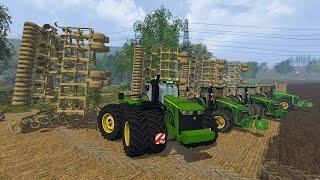 getlinkyoutube.com-Farming Simulator 2015 - John Deere Minimum tillage