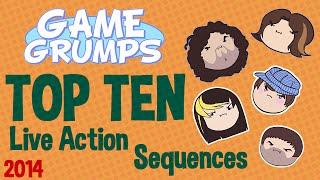 getlinkyoutube.com-Game Grumps - Top Ten Live Action Sequences of 2014! - Grumpmas