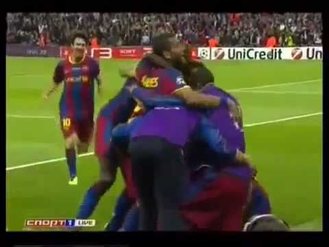 Champions League Final 2011 BARCELONA 3 MANCHESTER UNITED 1 Full HD Match Highlights Goals --UwSrt7ubck