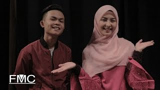 Tajul & Wany Hasrita - Disana Cinta Disini Rindu (Official Lyric Video)