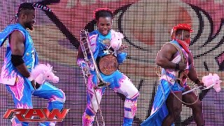 getlinkyoutube.com-The New Day's First Anniversary In-Ring Country Music Jamboree: Raw, November 23, 2015