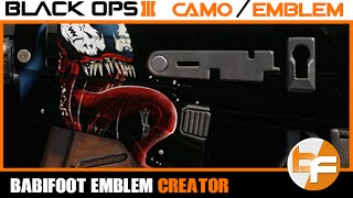 getlinkyoutube.com-Black Ops 3 PaintShop Tutorial #005 - Venom #Babifoot