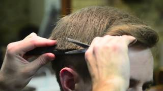 getlinkyoutube.com-Classic Haircut by The Barber Luke