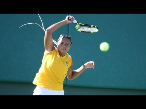 Baylor Tennis (W): Highlights vs. TCU