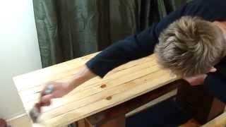 getlinkyoutube.com-Как сделать стол из дерева самому. Массивный стол своими руками.