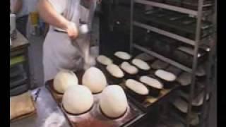getlinkyoutube.com-Bakerman is baking bread - a master baker at work