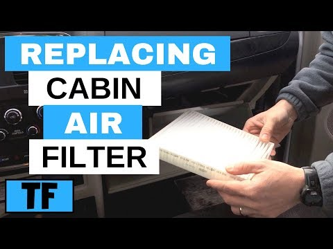 How To Replace The Cabin Air Filter In A 2011 Dodge Grand Caravan
