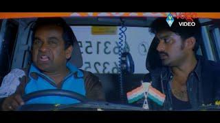 Jayavani With Police || Latest Movie Scenes || Volga Videos 2017