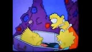 getlinkyoutube.com-La leyenda de la muerte de bart simpson Dead Bart videos de terror fantasmas vida real Creepypastas