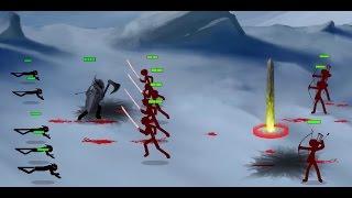 getlinkyoutube.com-Stick Empires Classic - Chaos Vs Order - Invasion
