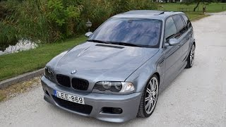 getlinkyoutube.com-BMW E46 M3 Touring | based on 318d