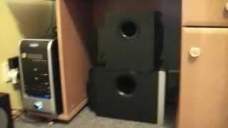 getlinkyoutube.com-Logitech z-2300 i z-623 Bass Test Extreme