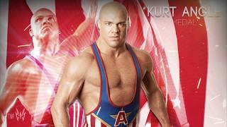 """getlinkyoutube.com-WWE Kurt Angle Theme Song """"Medal"""" (V2) [WWE Hall Of Fame 2017] ᴴᴰ"""