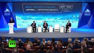 LIVE: Putin talks at Intl Artic Forum in Russia