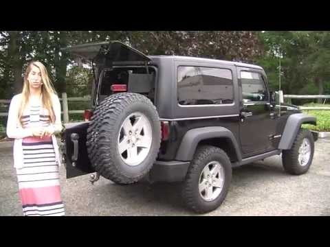 Virtual Video Walk Around of a 2011 Jeep Wrangler Rubicon at Nissan of the Eastside p3365