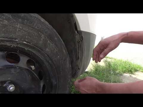 Как снять-поставить задний бампер Hyundai iX-35.