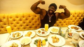 KALI MUSCLE EATING FOOD LIKE A MONSTER
