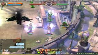 getlinkyoutube.com-Tree of Savior Level 200 PvP VS Doppelsoeldner Close Match Carrying